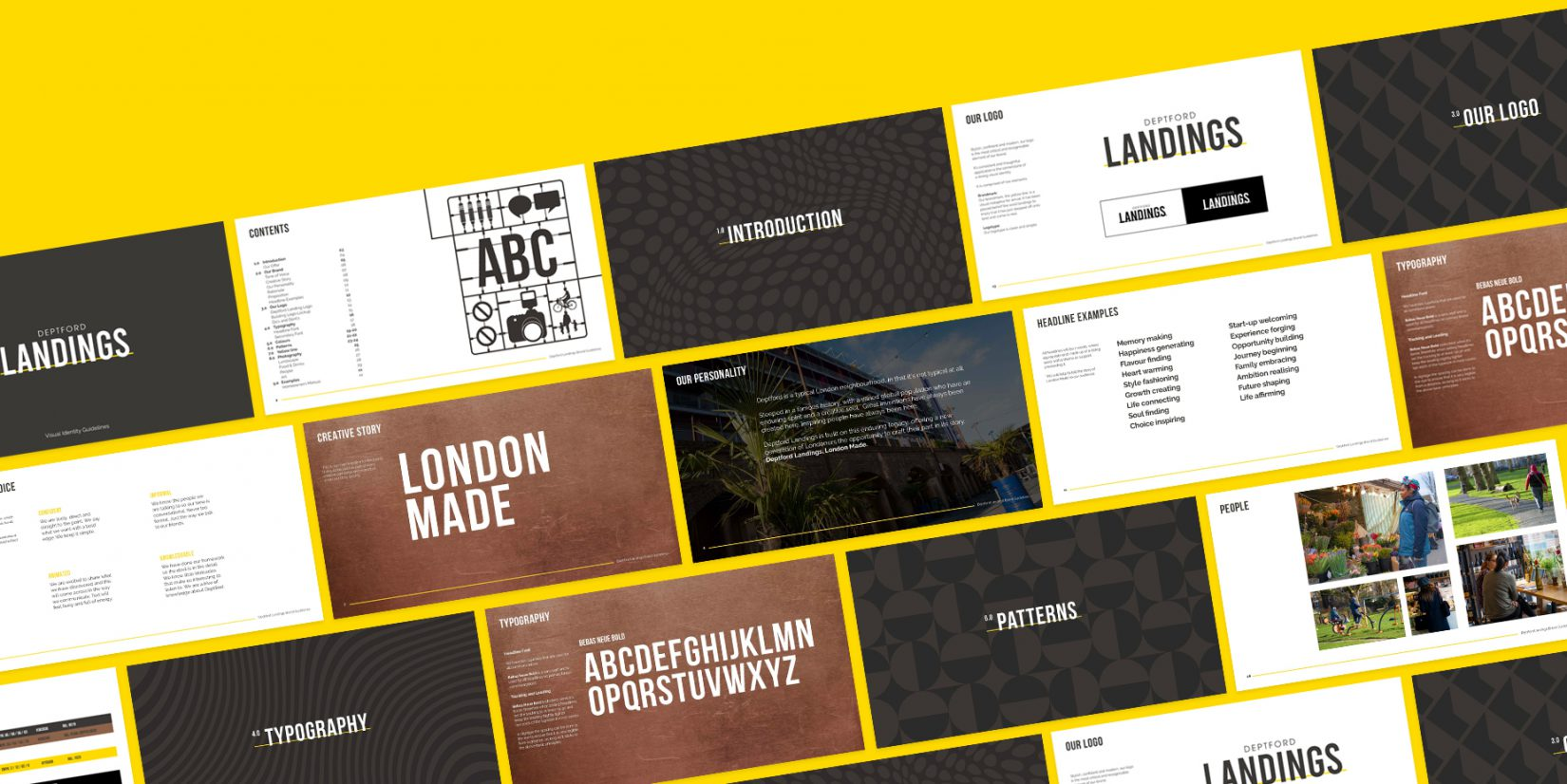Deptford Landings Brand Guidelines