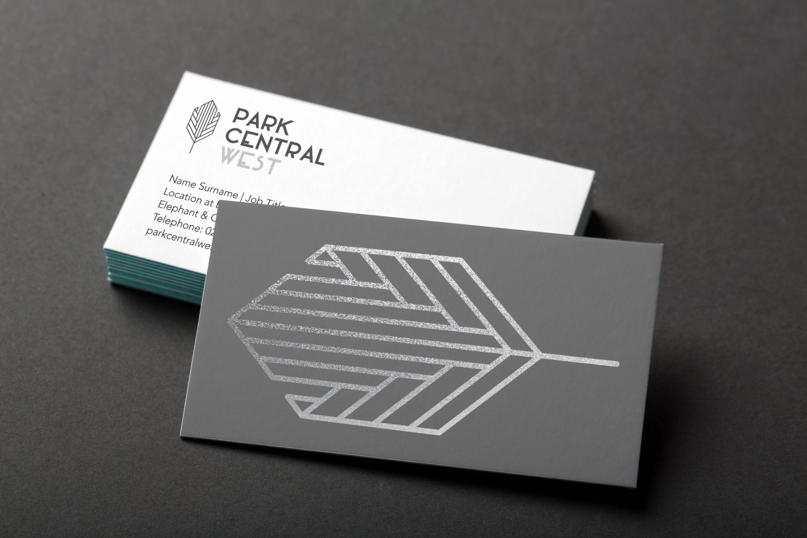 Elephant Park Business Cards Design