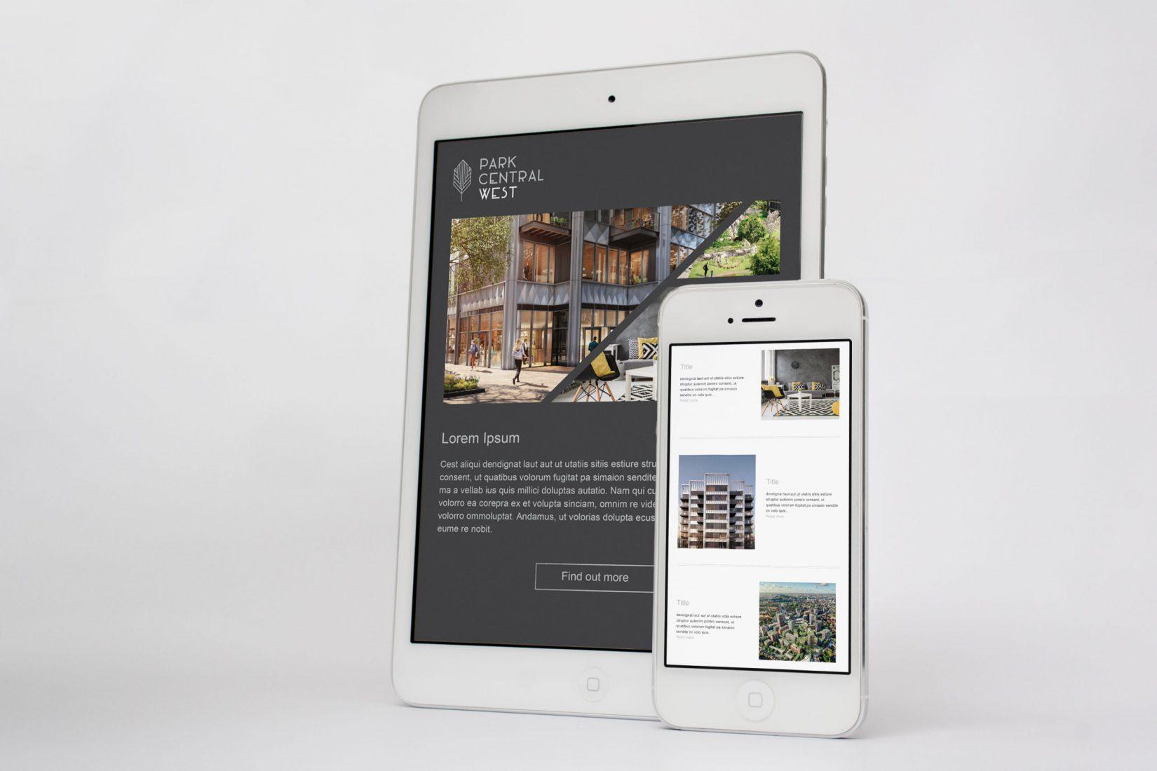Elephant Park iPad Mockup