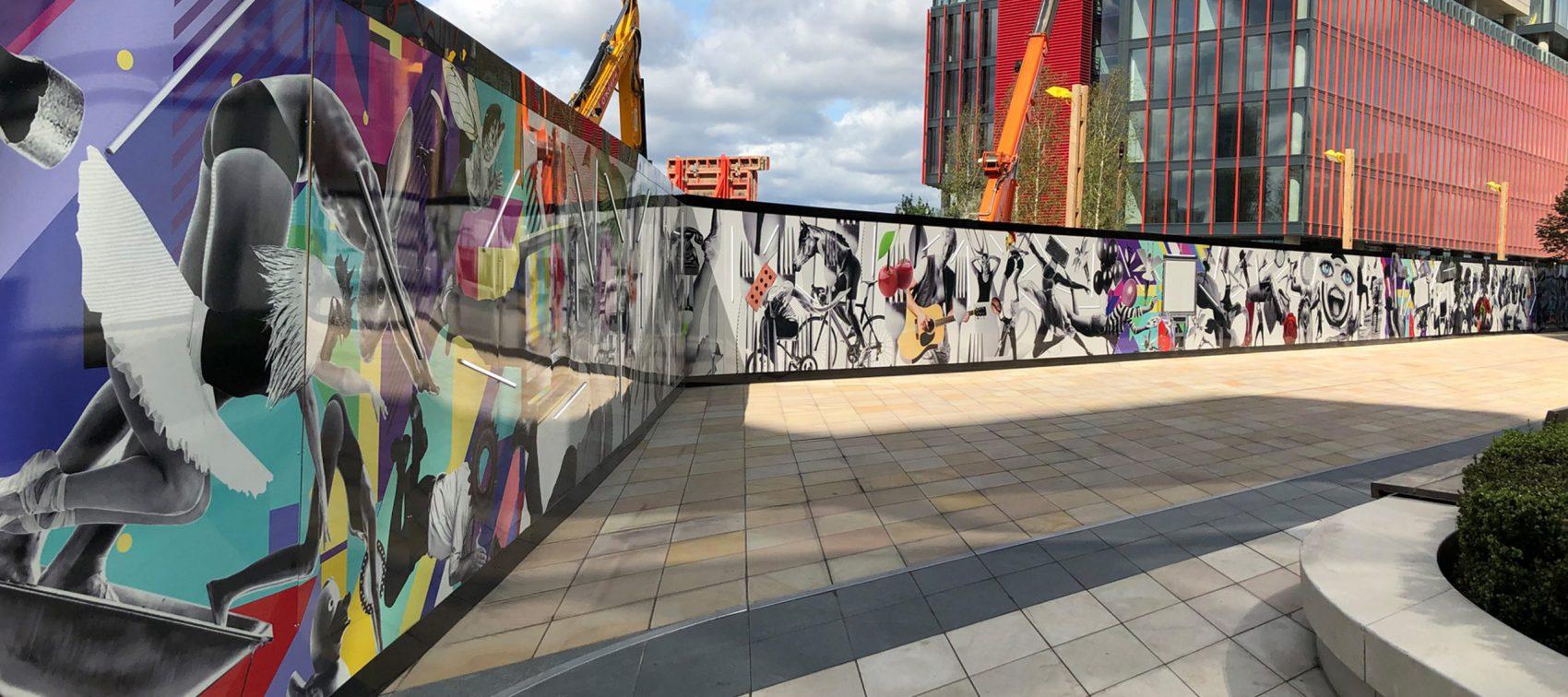 IQL Stratford Hoarding