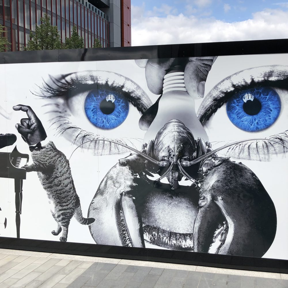 IQL Stratford Hoarding Lobster Eye