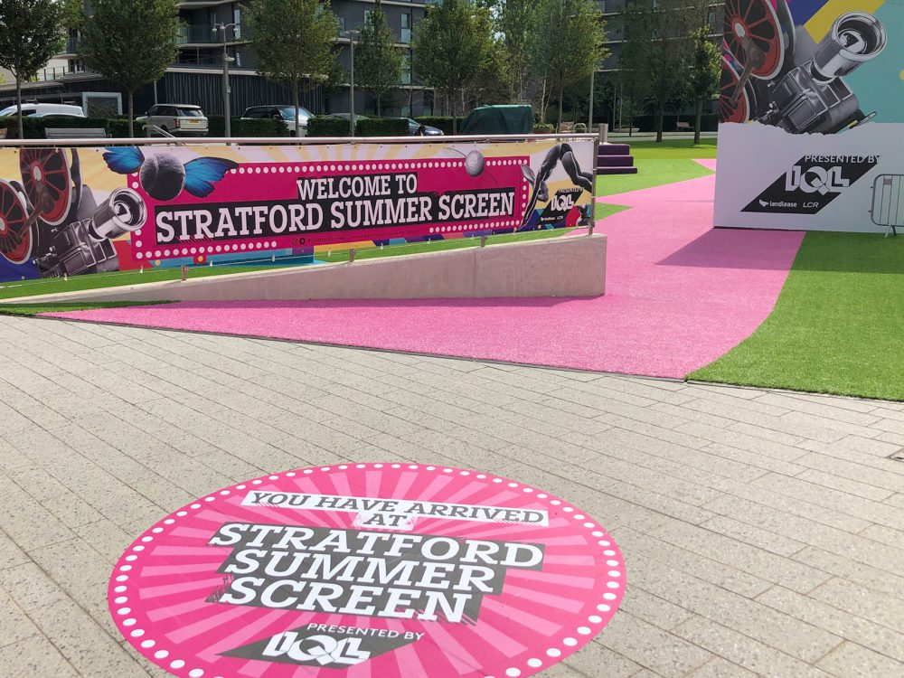 IQL Stratford Summer Screen Floor Vinyls