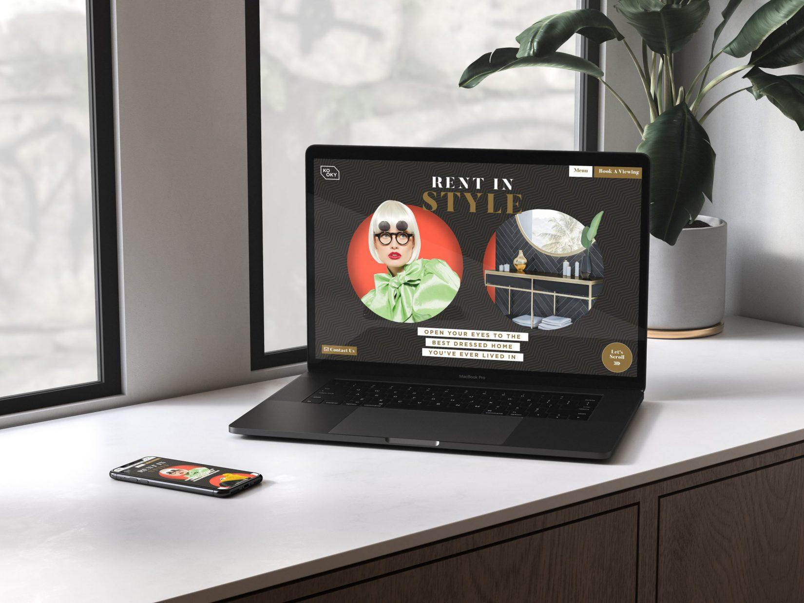 Kooky Website Design