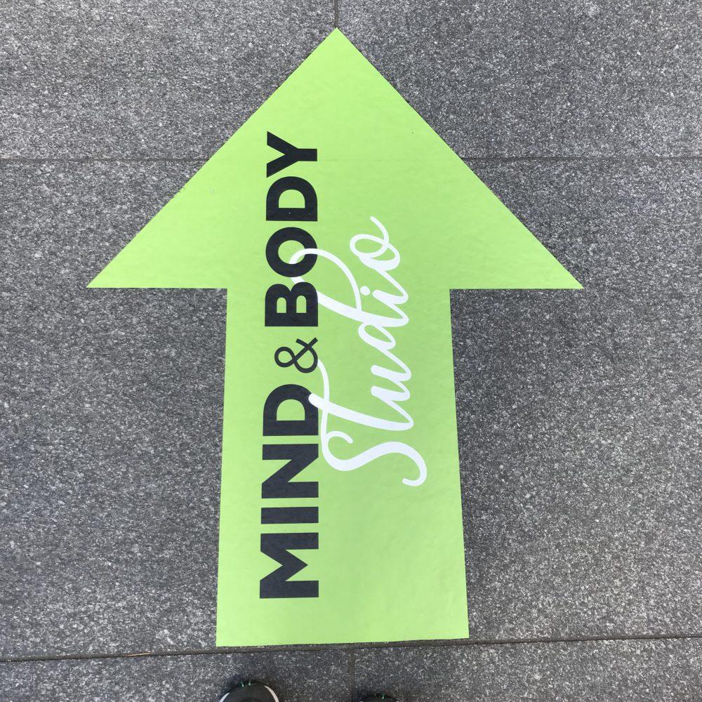 Regent's Place London Green Film Festival Mind & Body Arrow