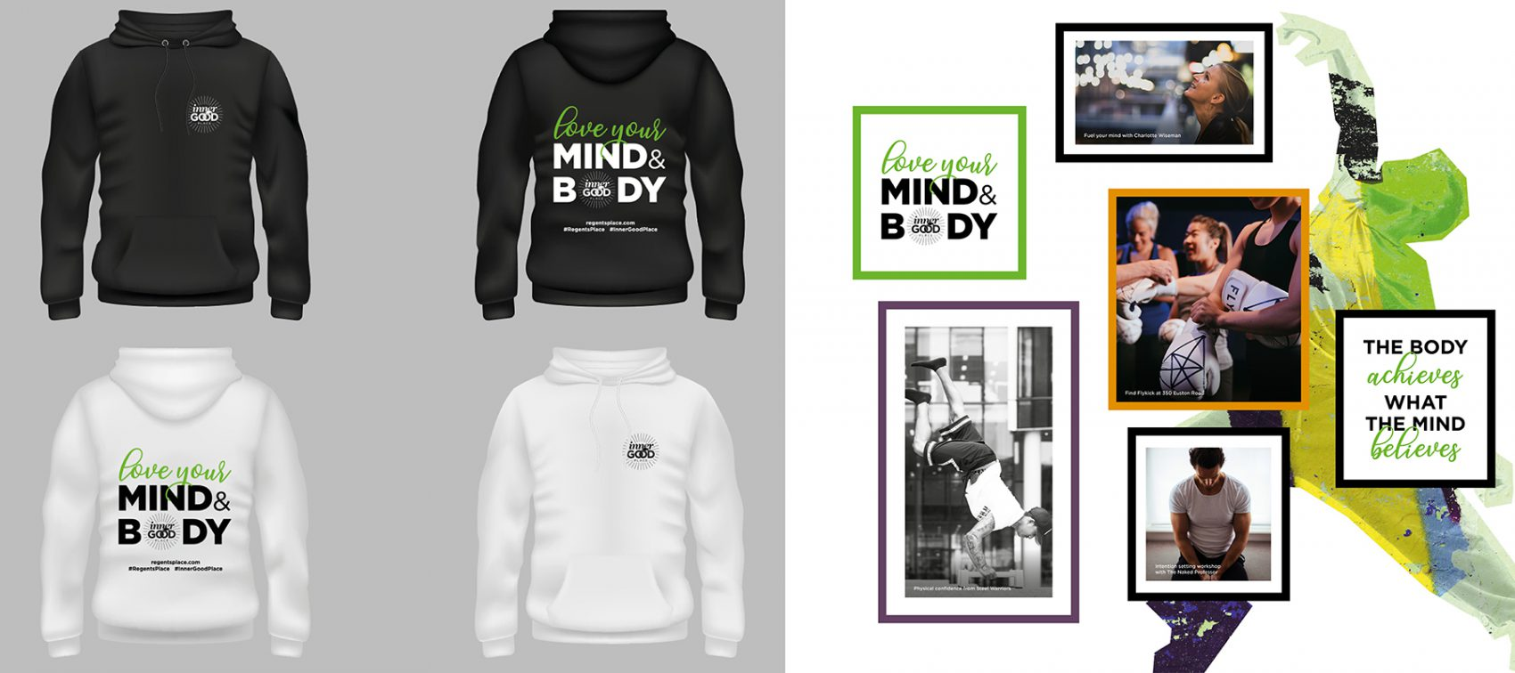 Regent's Place London Green Film Festival Mind & Body Clothing & Posters