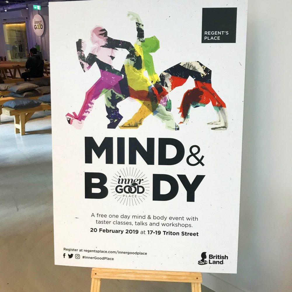 Regent's Place London Green Film Festival Mind & Body Poster