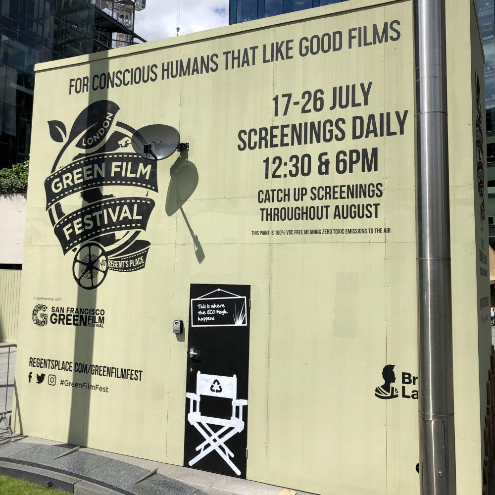 Regent's Place London Green Film Festival Plaza Design 2