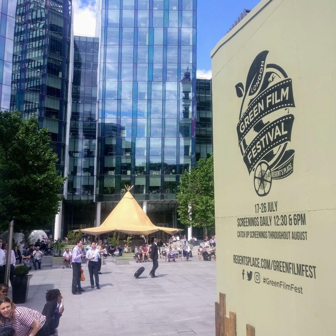 Regent's Place London Green Film Festival Plaza Design